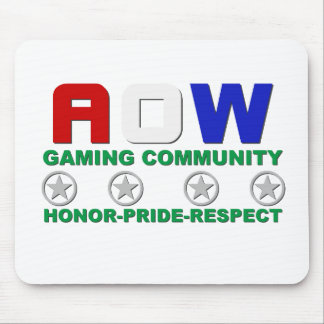 AOW Honor Pride Respect Mouse Pad