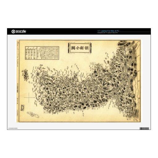 ap de la península de Corea (1860) Skins Para Portátiles
