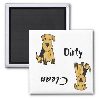 AP- Dirty Paws Dishwasher Magnet