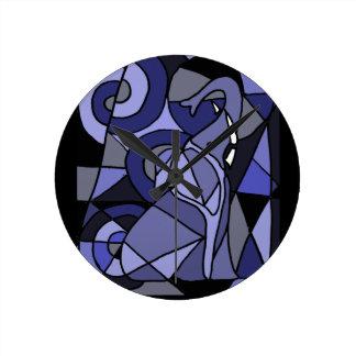 AP- Elephant Art Wall Clock