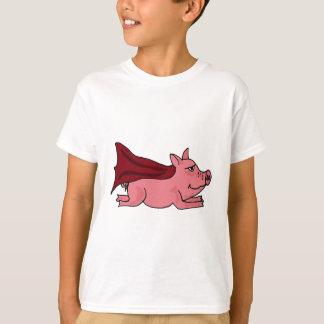 AP- Flying Super Pig Cartoon T-Shirt