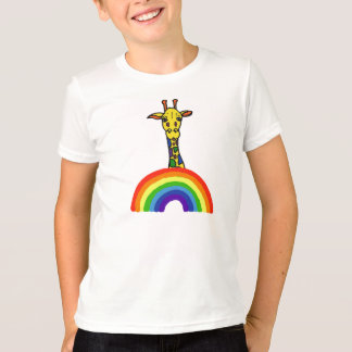AP- Giraffe and Rainbow Shirt