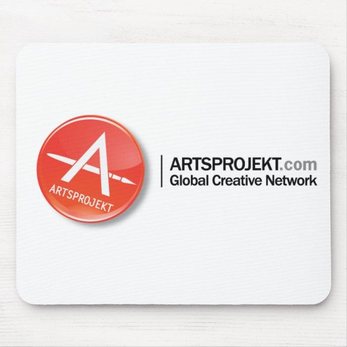 AP-GlobalCreativeNetwork Logo Mouse Pad