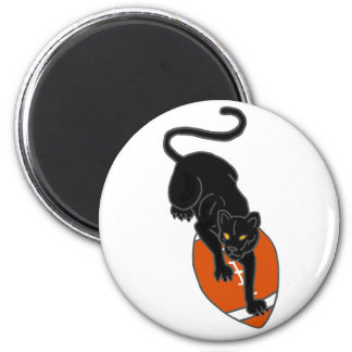 AP- Panther on a Football Art Design Magnet