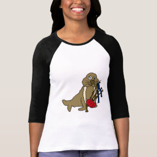 AP- Walrus Playing the Bagpipes T-shirt