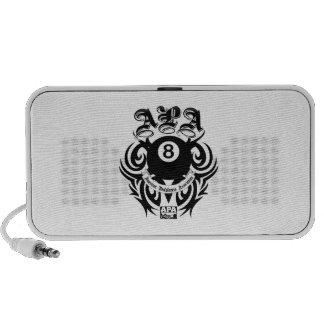 APA 8 Ball Gothic Design Portable Speaker