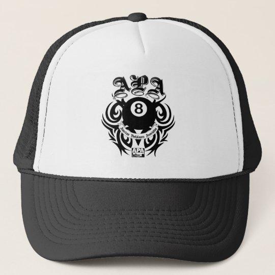 APA 8 Ball Gothic Design Trucker Hat