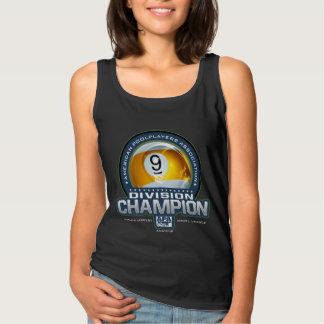 APA 9 Ball Division Champs Tank Top