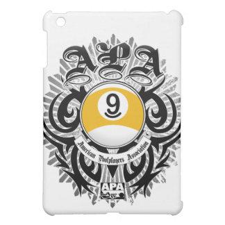 APA 9 Ball Gothic Design iPad Mini Cover