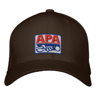 APA Full Color Logo Embroidered Baseball Hat
