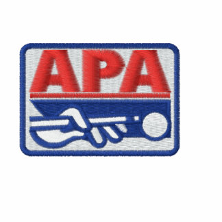 APA Full Color Logo Embroidered Hooded Sweatshirts
