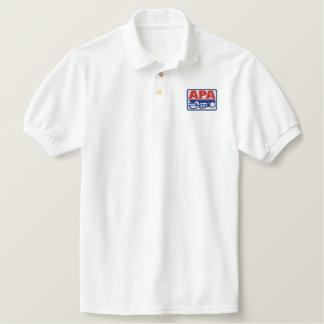 APA Full Color Logo Embroidered Polo Shirt