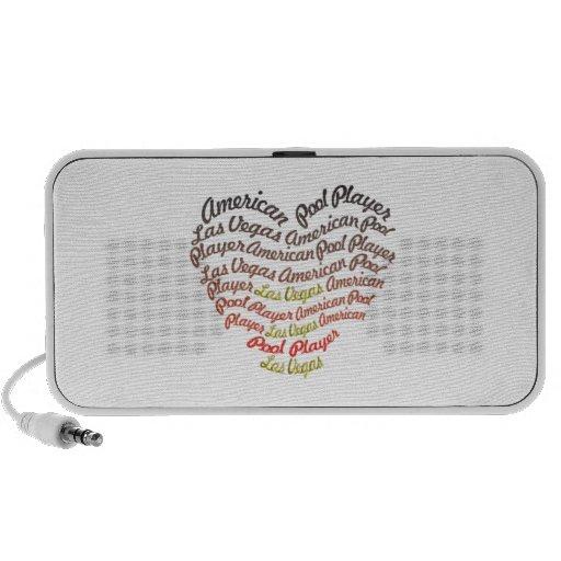 APA Heart iPod Speaker
