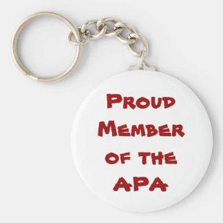 APA Keychain