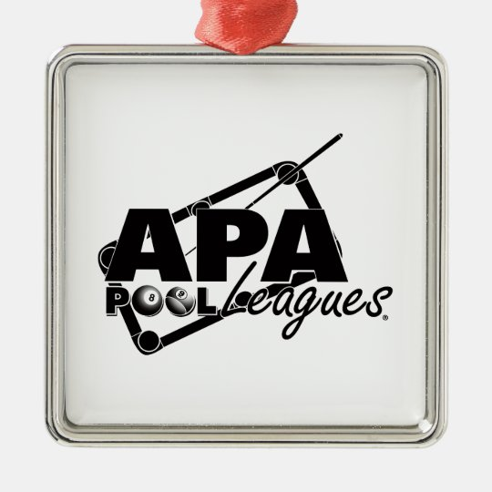 APA Leagues Metal Ornament