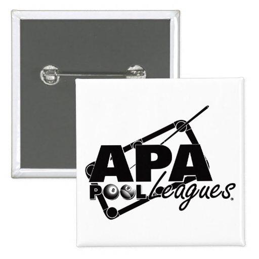 APA Leagues Pinback Button