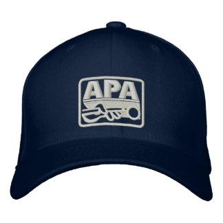 APA Logo - Cream Embroidered Baseball Cap