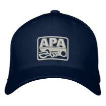 APA Logo - Cream Embroidered Baseball Hat
