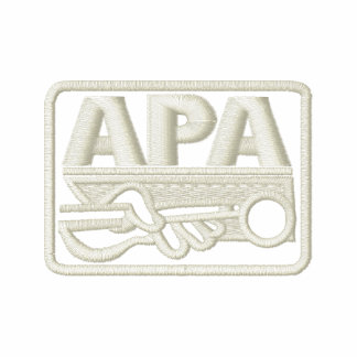 APA Logo - Cream Polo Shirt