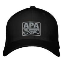 APA Logo - Grey Embroidered Baseball Hat