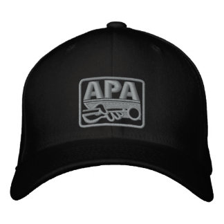 APA Logo - Grey Embroidered Baseball Cap