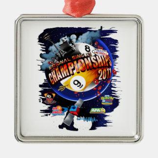 APA National Singles Championships Metal Ornament