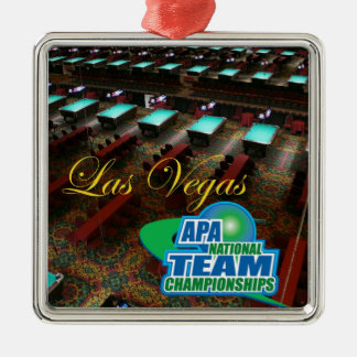 APA National Team Championships Metal Ornament