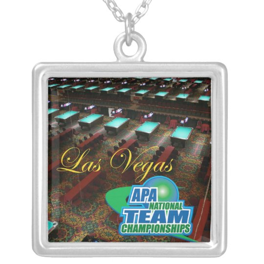APA National Team Championships Silver Plated Necklace