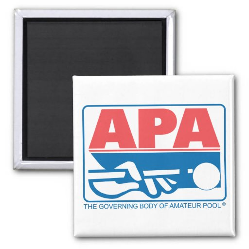 APA Original Logo 2 Inch Square Magnet