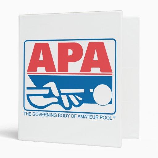 APA Original Logo Binder