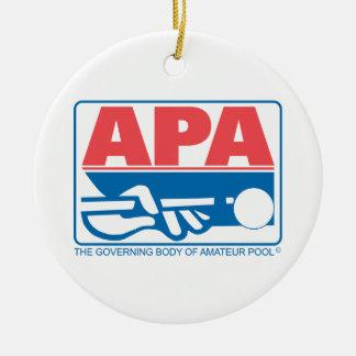 APA Original Logo Ceramic Ornament