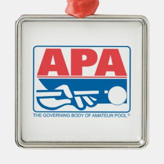 APA Original Logo Metal Ornament