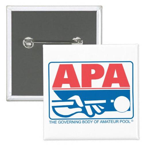 APA Original Logo Pinback Button