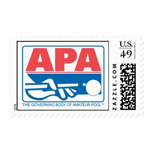 APA Original Logo Postage