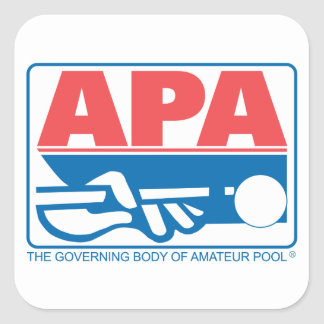 APA Original Logo Square Sticker