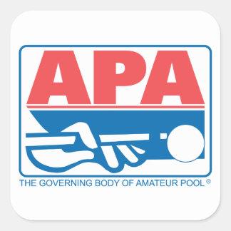 APA Original Logo Square Sticker