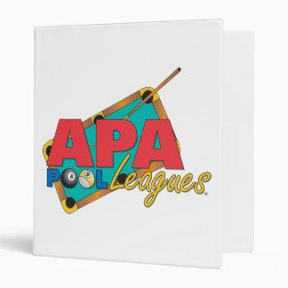 APA Pool Leagues Binder