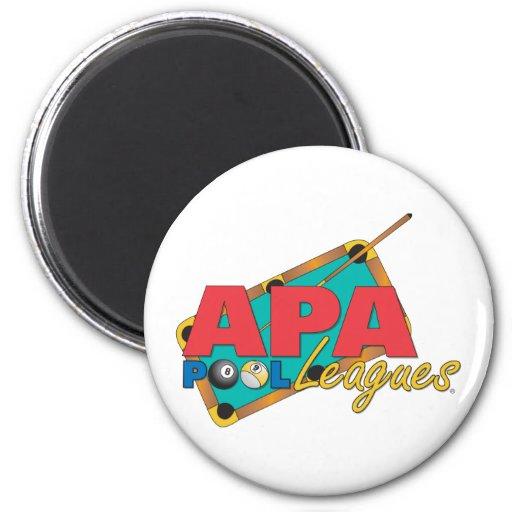 APA Pool Leagues Fridge Magnets