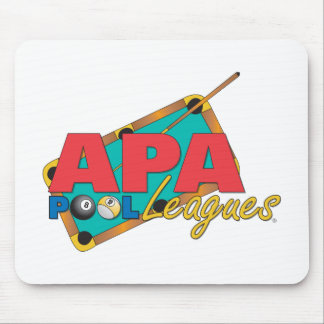 APA Pool Leagues Mouse Pad