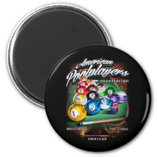 APA Pool Rack 2 Inch Round Magnet