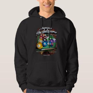 APA Pool Rack Hooded Pullovers
