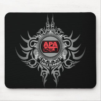 APA Table Runner Red Mouse Pad