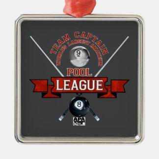 APA Team Captain Metal Ornament