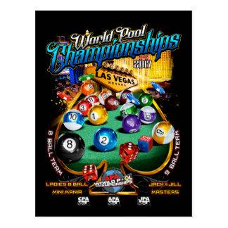 APA World Pool Championships 2017 Postcard