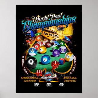 APA World Pool Championships 2017 Poster
