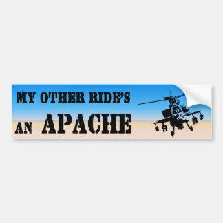 Apache3 Etiqueta De Parachoque