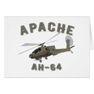 Apache AH-64 Cards