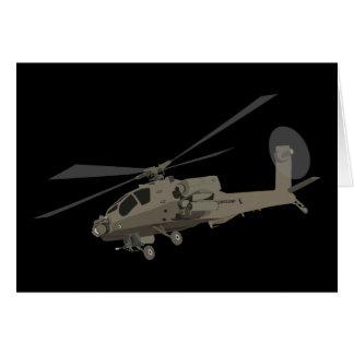 Apache AH-64 Greeting Cards