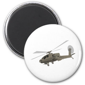 Apache AH-64 Refrigerator Magnet