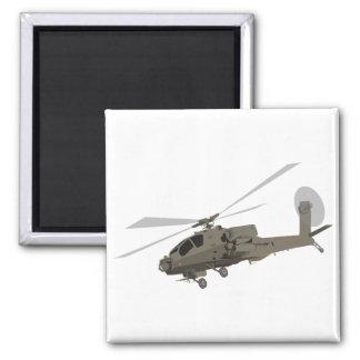 Apache AH-64 Fridge Magnet